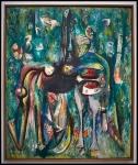 Le Sombre Malembo, dieu du Carrefour (el sombrío Malembo, dios de la encrucijada), 1943