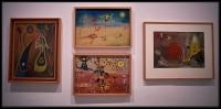 Joan Ponç i Bonet Gall (Cockerel)1947 Joan Ponç i Bonet Ictiol1948 Joan Ponç i Bonet Composició (Composition)1947Joan Ponc Painting Art Works