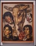 José Solana (José Gutiérrez Solana) Cabezas y caretas (Heads and Masks)1943 (circa)