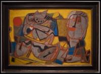 Corneille (Guillaume Cornelis van Beverloo) Homme et bêtes (Hombre y bestias)1951-1952