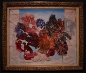 Max Ernst Oiseaux rouges (Pájaros rojos)1926