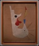 Joan Miró Pintura (Cabeza de fumador)1925