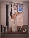 Salvador Dalí Pierrot tocant la guitarra (Pintura cubista) (Pierrot tocando la guitarra [Pintura...1925