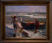 Joaquín Sorolla i Bastida Llegada de la pesca1889