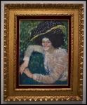 Pablo Picasso (Pablo Ruiz Picasso) Buste de femme souriante (Busto de mujer sonriente)1901
