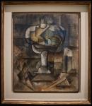 Pablo Picasso (Pablo Ruiz Picasso) Le compotier (El frutero)1910