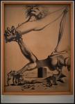 "Salvador Dalí Estudio para «Premonición de la Guerra Civil» (Study for ""Premonition of the Civil War"")1935"