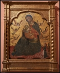 Anonymous Venetian Artist ca. 1360 The Virgin of Humility with Angels and a Donor ca. 1360