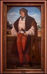 """Hans Wertinger The Court Jester known as """"Knight Christoph"""" 1515"""