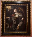 Ferraù Fenzoni Saint Francis with Stigmata, held up by an Angel ca. 1610-20