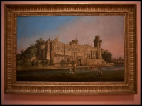Canaletto The South Façade of Warwick Castle 1748