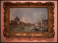 Francesco Guardi The Grand Canal with San Simeone Piccolo and Santa Lucia ca. 1780