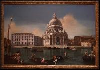Michele Marieschi The Grand Canal with Santa Maria della Saluteca. 1738-40