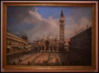 Canaletto La piazza San Marco in Venice ca. 1723-24