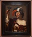 Gerrit van Honthorst The happy Violinist ca. 1624