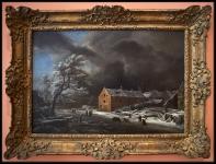 Jacob Isaacksz. van Ruisdael Winter Landscape ca. 1670