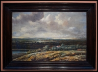 Philips Koninck Panoramic Landscape with a City in the Background 1655