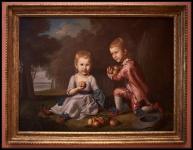 Charles Willson Peale The Stewart Children ca. 1773-74