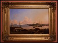 Fitz Henry Lane The Fort and Ten Pound Island, Gloucester, Massachusetts 1847
