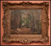 Camille Pissarro The Woods at Marly 1871