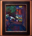 Wassily Kandinsky Murnau, Houses in the Obermarkt 1908