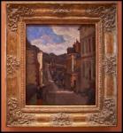 Paul Gauguin Rue Jouvenet in Rouen 1884