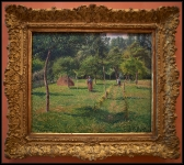 Camille Pissarro The Orchard at Éragny 1896