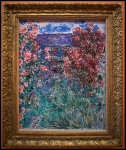 Claude Monet The House among the Roses 1925