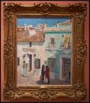 Childe Hassam Plaza de la Merced, Ronda 1910