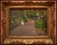 William Merritt Chase In the Park (A By-path) ca. 1889