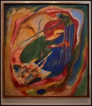 Wassily Kandinsky Picture with Three Spots, No. 196 1914