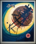 Wassily Kandinsky In the Bright Oval 1925