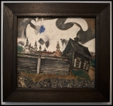 Marc Chagall The House in Grey 1917