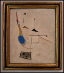 Joan Miró Painting on White Ground 1927