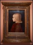 Piero della Francesca Portrait of a Boy. Guidobaldo da Montefeltro (?) ca. 1483