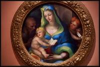 Domenico Beccafumi The Virgin and Child with the Infant Saint John and Saint. Jerome ca. 1523-1525