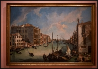 Canaletto The Grand Canal from San Vio, Venice ca. 1723-24