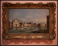 Francesco Guardi The Grand Canal with Santa Lucia and Santa Maria di Nazareth ca. 1780