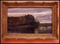 Vincent van Gogh Watermill at Gennep 1884