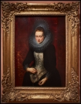 Peter Paul Rubens Portrait of a young Woman with a Rosary ca. 1609-10