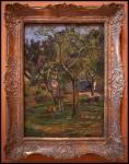 Paul Gauguin An Orchard under the Church of Bihorel 1884