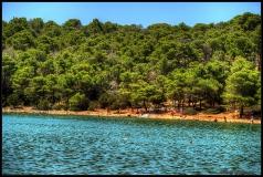 HDR Croazia Lago Salato