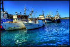 HDR Croazia Mare Barche