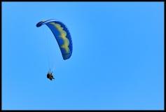 Il volo con il parapendio