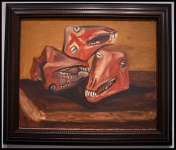 Pablo Picasso (Pablo Ruiz Picasso) Trois têtes de mouton (Tres cabezas de cordero)1939 (17 de octubre, Royan)