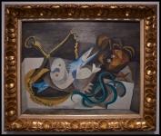 Pablo Picasso (Pablo Ruiz Picasso) Les anguilles de mer (Los congrios)1940