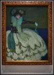 Pablo Picasso (Pablo Ruiz Picasso) Mujer en azul1901