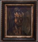 Pablo Picasso (Pablo Ruiz Picasso) Tête de femme (Fernande) (Cabeza de mujer [Fernande])1910 (París)