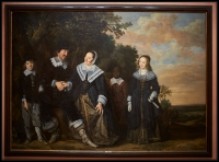 Frans Hals Family Group in a Landscape ca.1645-48