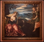 Tintoretto Annunciation to Manoah´s Wife ca. 1555-1559